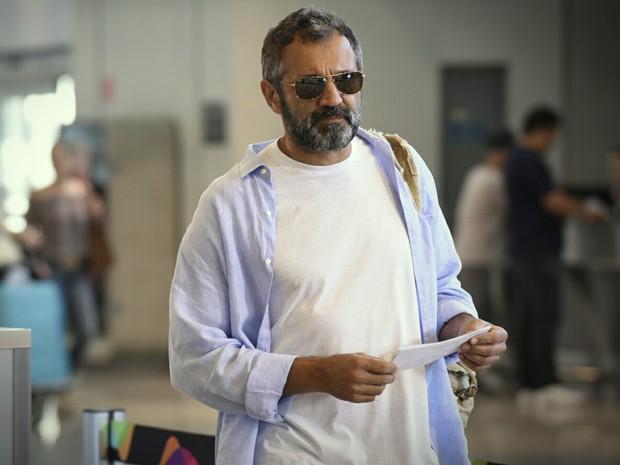 Domingos Montagner gravou cenas na pele de Miguel, de Sete Vidas (Foto: Raphael Dias/Gshow)