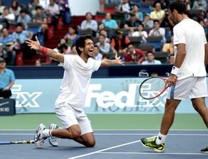 tênis Marcelo Melo e Ivan Dodig master 1000 de Xangai (Foto: Agência AFP)