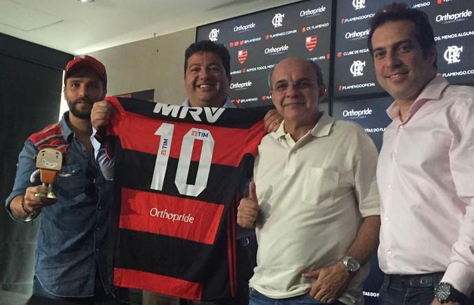 Bruno Gagliasso Flamengo novo patrocinador (Foto: Raphael Zarko / GloboEsporte.com)