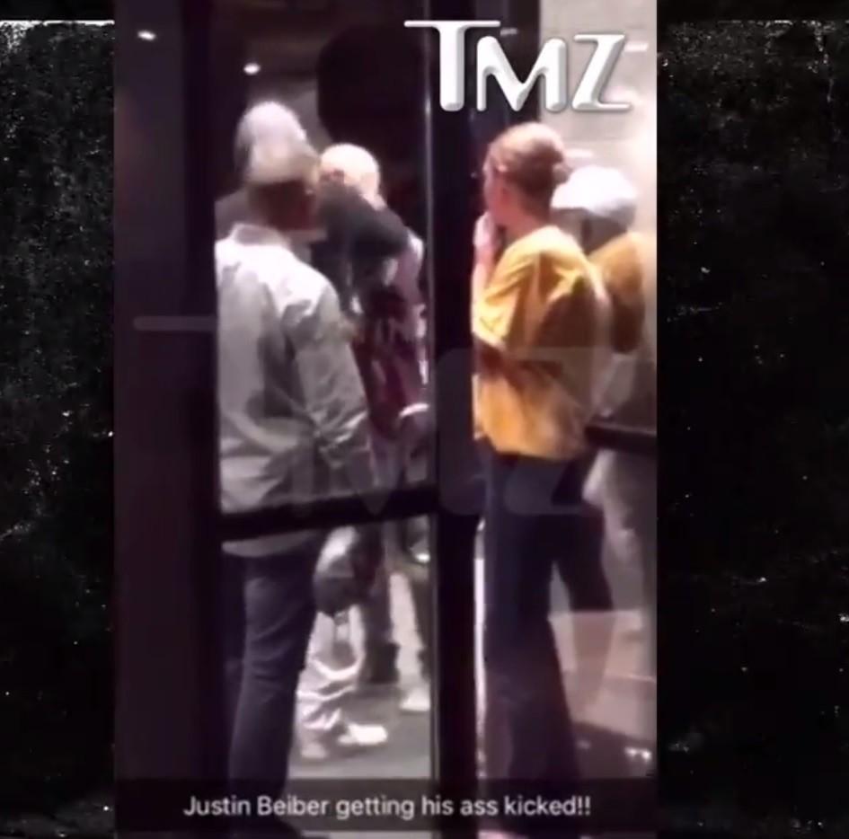 Justin Bieber se envolve em briga em Cleveland (Foto: Reproduo/TMZ)