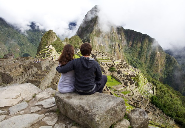 Machu Picchu, no Peru (Foto: Thinkstock)