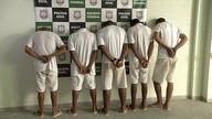 Cinco suspeitos de envolvimento em brigas de gangues são presos
