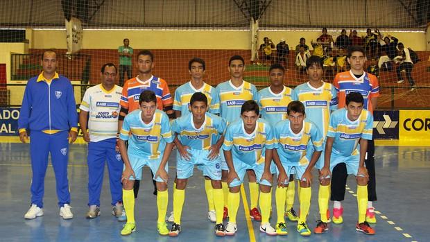 AABB/Porto da Folha estreou na Taça Brasil Sub-17 (2) (Foto: Zeroza Filho/CBFS)