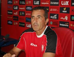 Paulo Moroni, técnico do Campinese (Foto: Silas Batista / GloboEsporte.com)