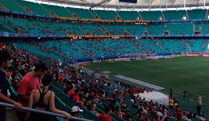 Vitória x Paysandu; arena fonte nova (Foto: Divulgação/EC Vitória)