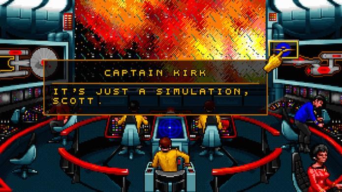 Star Trek: 25th Anniversary traz o capitão Kirk e o senhor Spock em emocionantes aventuras (Foto: Divulgação)