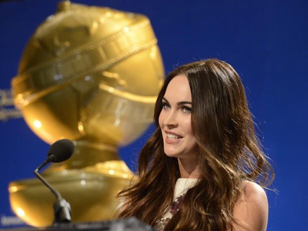 Megan Fox anuncia indicados ao Globo de Ouro (Foto: Reuters/Phil McCarten )