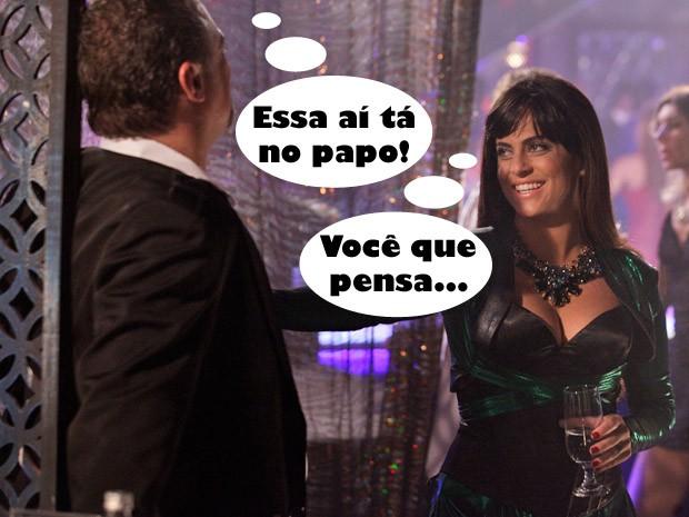 Lohana conversa com Russo (Foto: Salve Jorge / TV Globo)