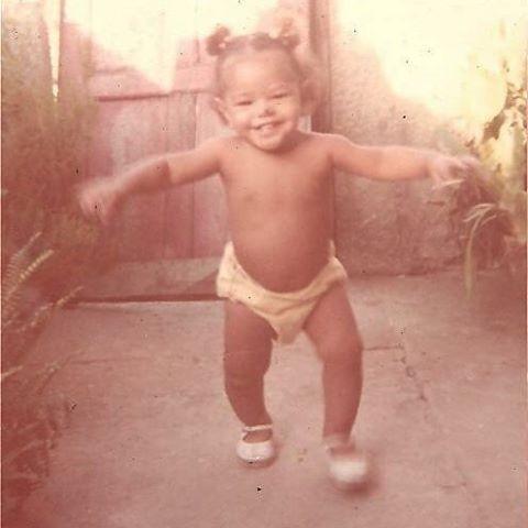 Juliana Alves posta foto da infância (Foto: Reprodução/Instagram)