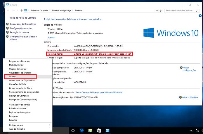 Descobrindo a arquitetura do Windows (Foto: Reprodução/Edivaldo Brito)