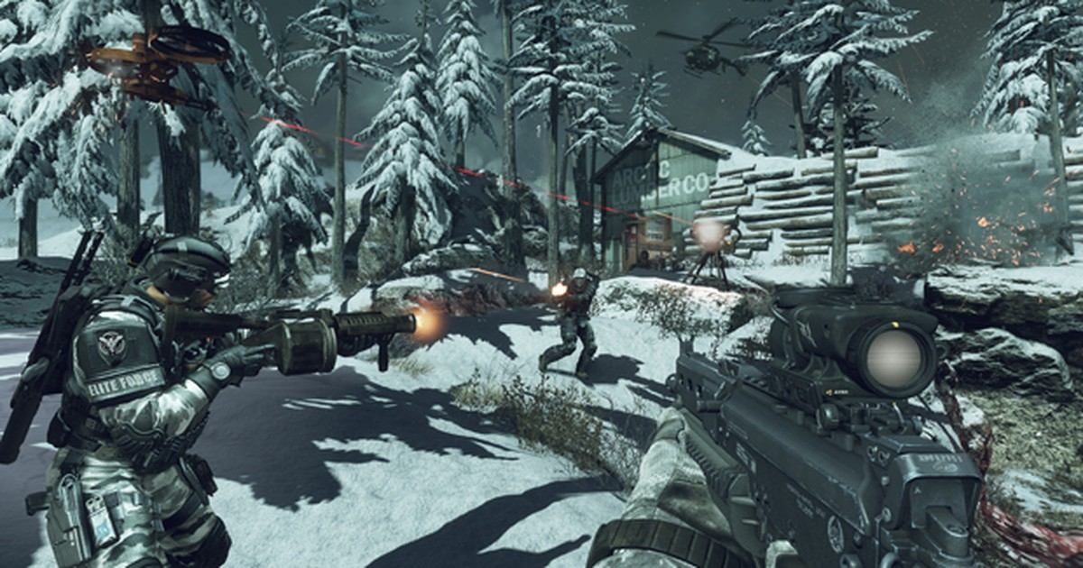 Activision detalha modo multiplayer on-line de game 'Call of Duty: Ghosts'