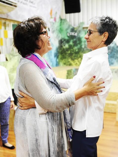 Beth Filipecki e Cássia Kis  (Foto: João Miguel Júnior/TV Globo)