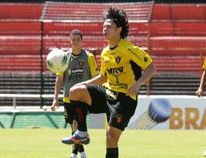 renan teixeira sport (Foto: Aldo Carneiro / Pernambuco Press)