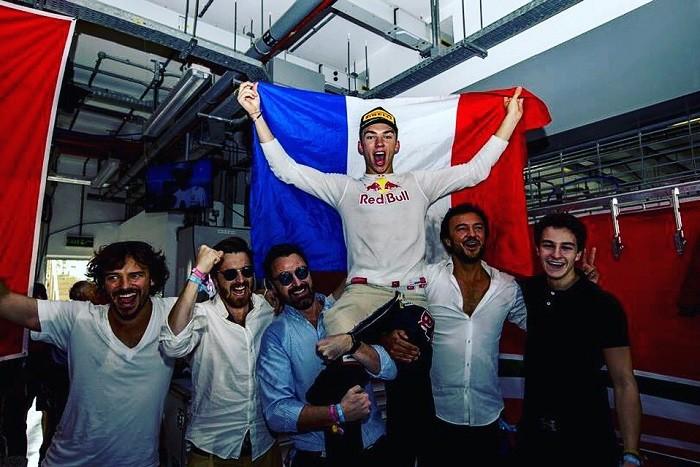 Pierre Gasly campeão da GP2