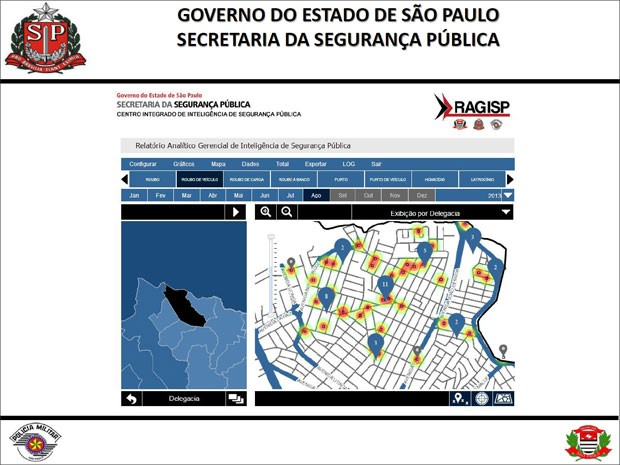 Ragisp está sendo usado desde por policiais civis e militares  (Foto: Reprodução / Divulgação)