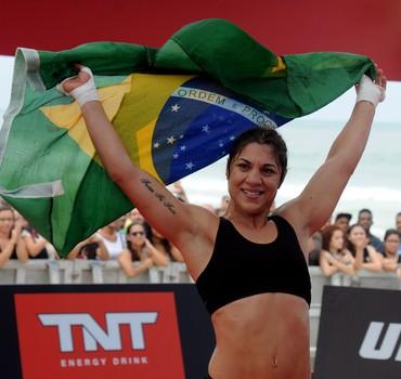 Bethe Correia UFC treino aberto (Foto: André Durão)