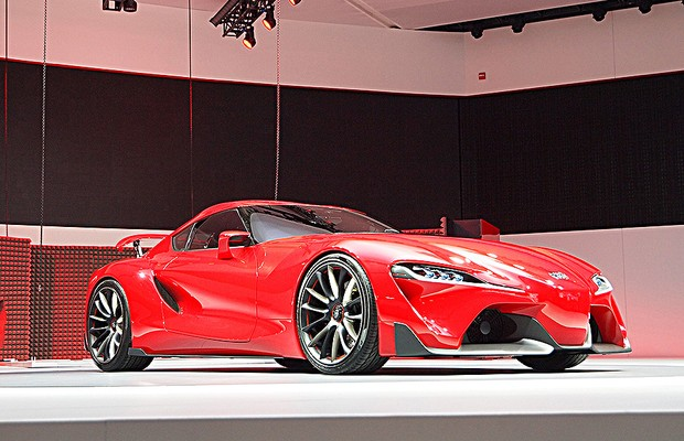 Toyota FT-1 no Salão de Detroit 2014 (Foto: Newspress)