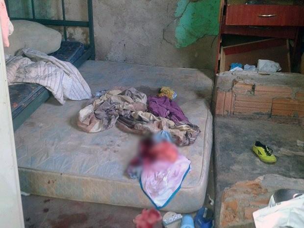 pai parto grávida nascimento quarto Uberaba (Foto: Alex Rocha/ G1)