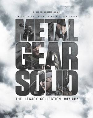 Capa da caixa da coletânea de 'Metal Gear Solid' exclusiva do PS3 (Foto: Divulgação/Konami)