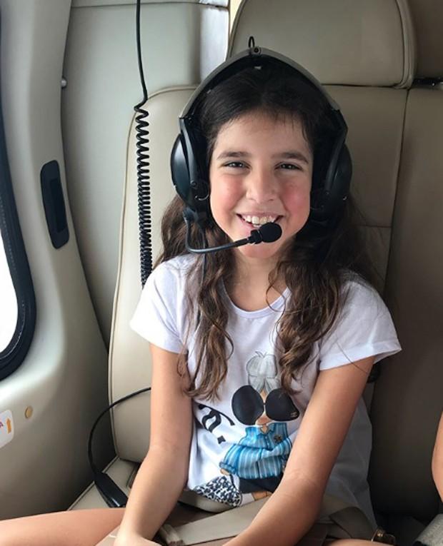 Maria, filha do meio de Rodrigo Faro e Vera Viel (Foto: Reprodução/Instagram)