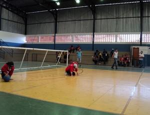 Goalball em Uberlândia (Foto: Arquivo Pessoal / Fernando Dias)