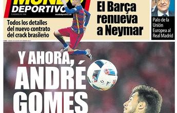 Após renovar com Neymar, Barcelona vai atrás de meia português, diz jornal