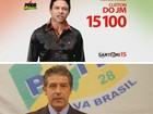 Palhaço Mortadela, Petiço do Canadá e Getúlio Vargas pedem votos no RS