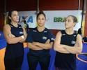 De olho no Rio 2016, lutadoras travam briga interna por posto de nº 1 do país