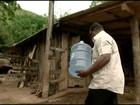 Córrego seca e distrito de São José do Calçado fica sem água, no ES