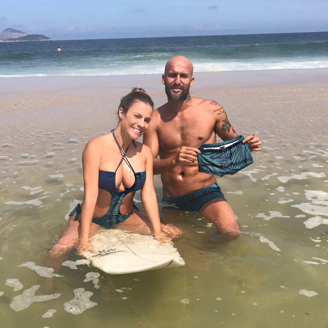 Maíra Charken e Renato Antunes (Foto: Reprodução Instagram)