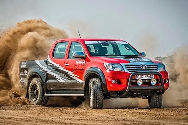Toyota Hilux ganha versão de 455 cv na África do Sul (Foto: Toyota)