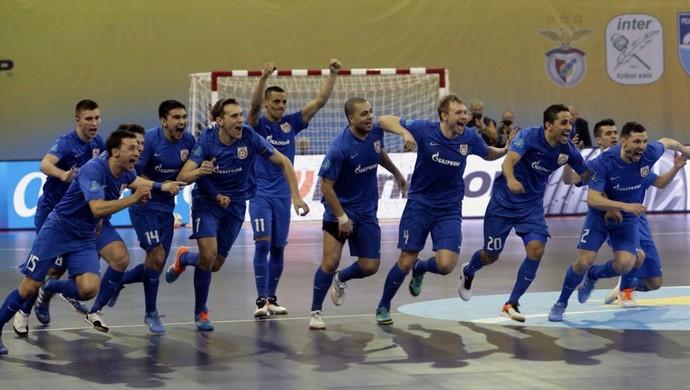 Ugra é campeão da Copa da Europa (Foto: EFE)