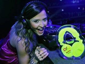 Tháscya Spirandelli, DJ de Uberlândia (Foto: Arquivo pessoal)