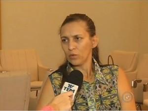 Sandra Bastos Vidal (Foto: Reprodução/ TV TEM)