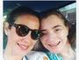 Mãe de Luana Piovani comemora  companhia de filha e netos: 'Iluminam'