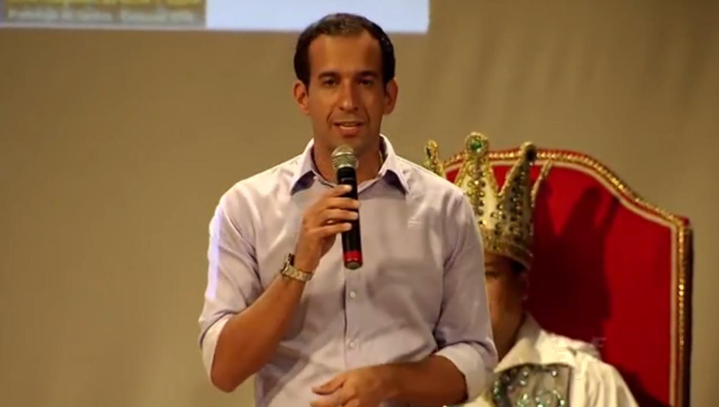 Prefeito Paulo Alexandre Barbosa (Foto: Reprodução/TV Tribuna)