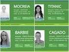 'Mocreia', 'Titanic', 'Roupa Velha'; veja nomes inusitados nas eleições de RO