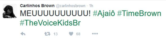 Carlinhos Brown comenta Audições do The Voice Kids em rede social (Foto: Reprodução)