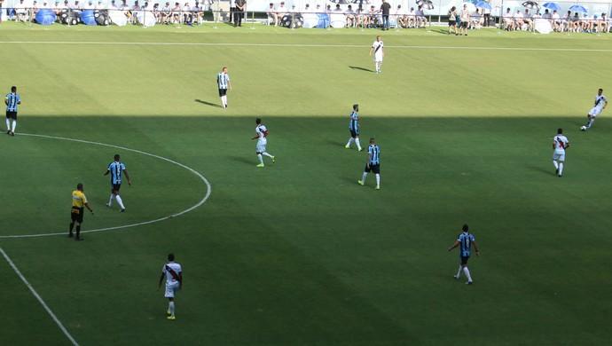Grêmio Danubio amistoso time Arena  (Foto: Eduardo Moura/GloboEsporte.com)