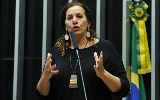 A deputada Jandira Feghali (Foto: Luis Macedo / Câmara dos Deputados)