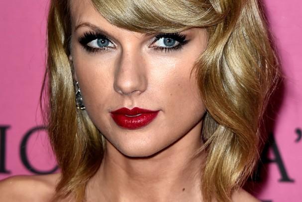 Taylor Swift, aka rainha do batom vermelho (Foto: Getty Images)