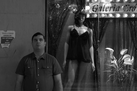 Rodrigo Fonseca em cena de Angústia (Foto: Reprodução)