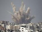 Palestinos morrem em bombardeio aéreo na Faixa de Gaza