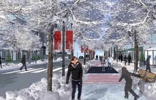 Organizadores estão planejando um projeto piloto já no próximo inverno. (Foto: The Edmonton Freezeway)