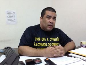 Presidente do Sindpen, Jarbas de Souza (Foto: Natália Souza/G1)