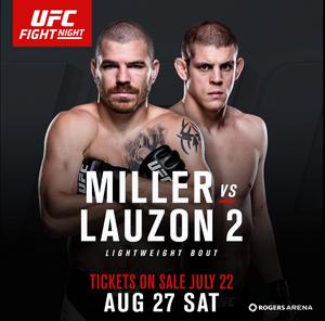 Jim Miller; Joe Lauzon; UFC Canadá (Foto: Reprodução Twitter)