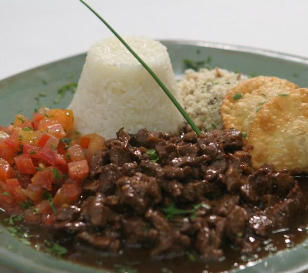 Picadinho do chef Carlos Ribeiro (Foto: Kenji Tateyama)