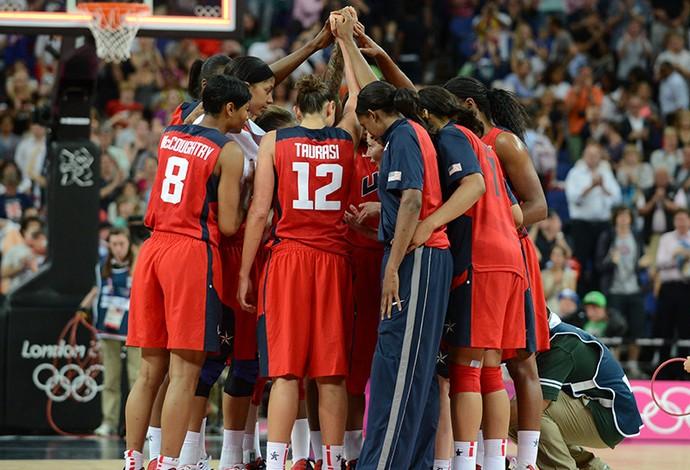 Estrelas fazem EUA vir com força total no basquete feminino na Olimpíada do Rio (Foto: Team USA)