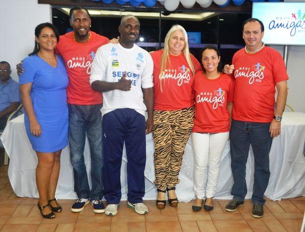 A equipe Vermelha também está focada em ajudar (Foto: Divulgação / TV Sergipe)