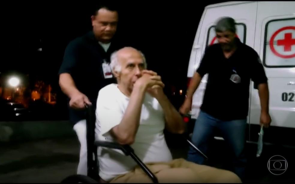 Roger Abdelmassih está internado desde maio em Taubaté (Foto: Reprodução/ Rede Globo)